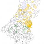 Naus per gemeente NL2007-BE2008