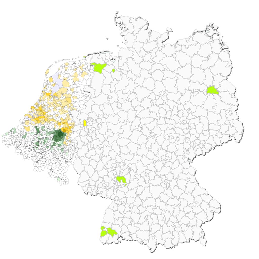 Nouwen per gemeente NL2007-BE2008-GE2008
