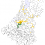 Nouws per gemeente NL2007-BE2008