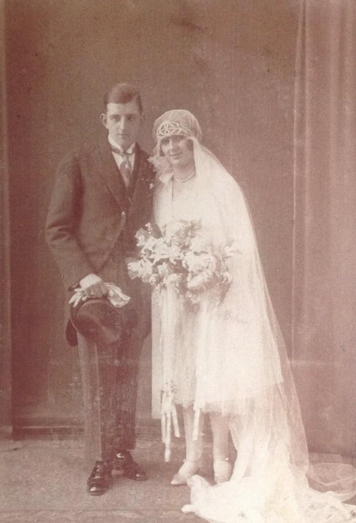 Huwelijk Piet en Adèle 13 feb 1928
