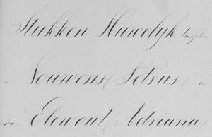 Huwelijksbijlage Petrus Nouwens en Adriana van Elewout - Klundert 1867