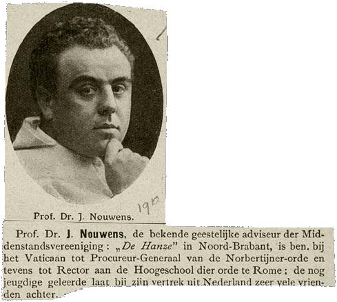 Johan Nouwens 1910