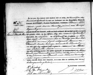 geboorte Adriana Pieternella Maria Nouwens - Klundert 11 sept 1868