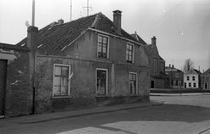 Het woonhuis van de familie in Klundert.