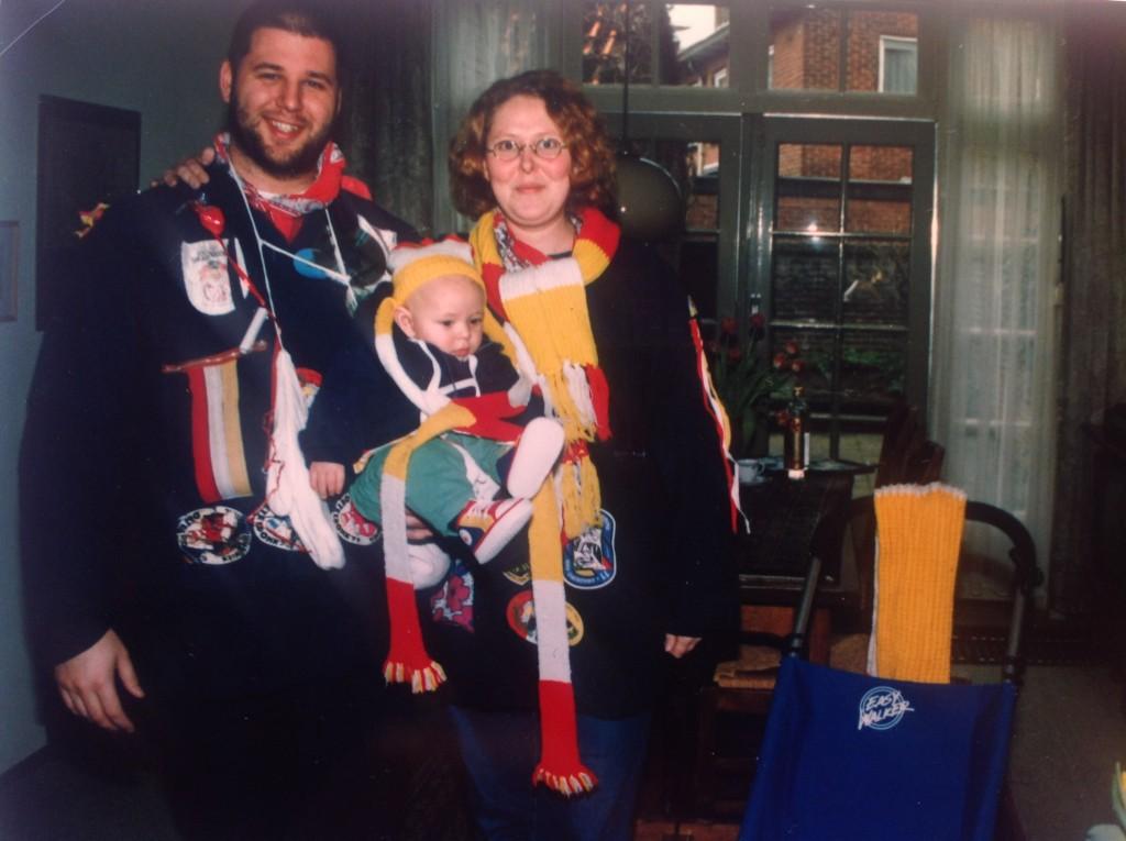 Hans - Jeroen (zoon van) Elsbeth, Carnaval 1998