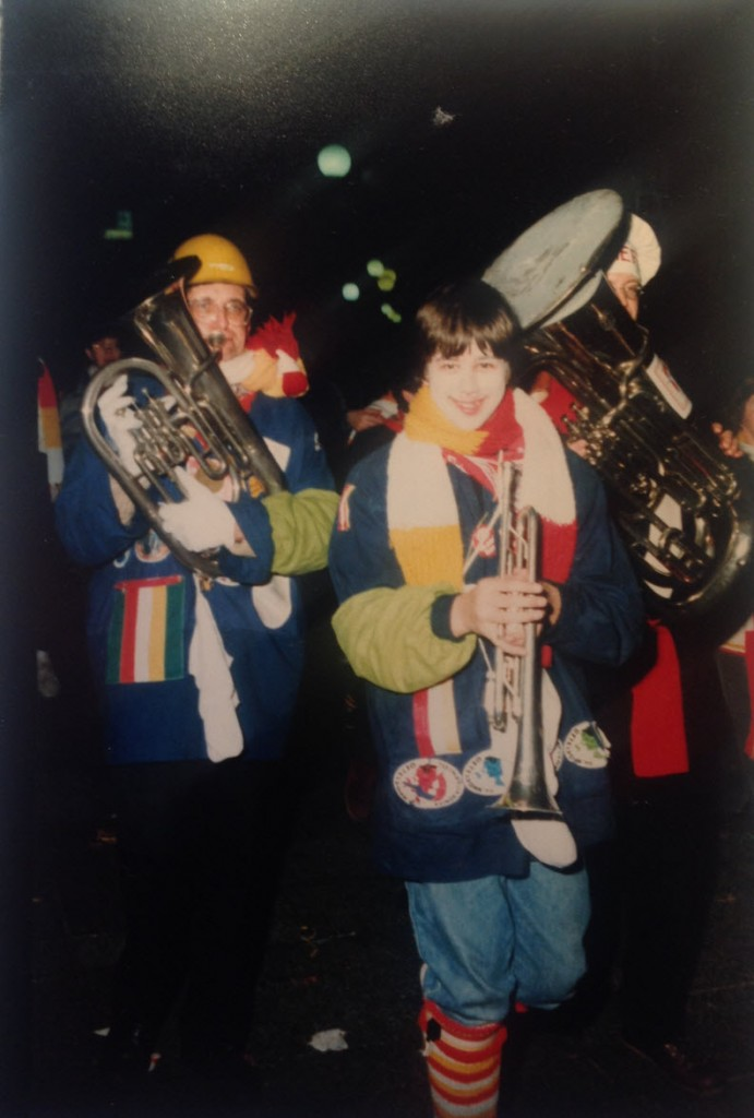 Jan - Hans (zoon van Jan) Carnaval 1984