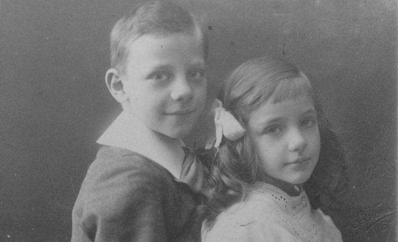 Jan en Adèle Verhees 1910