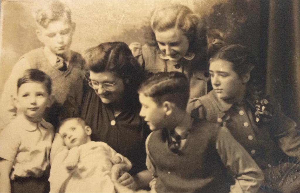 kinderen Nouwens december 1946