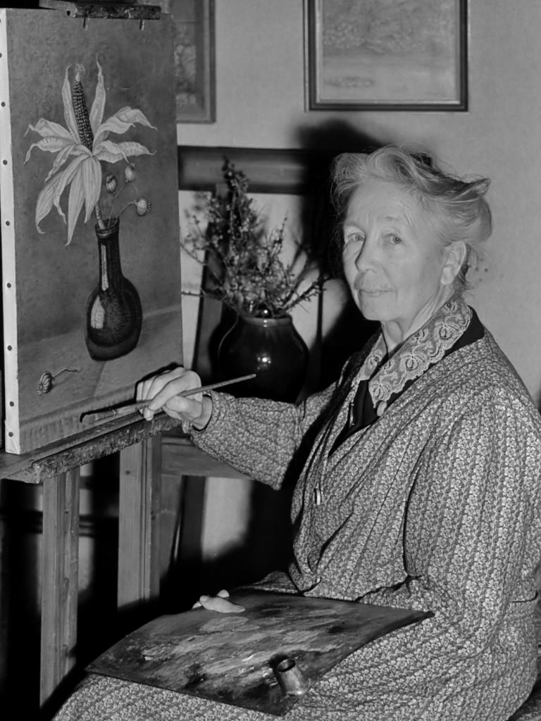 Haagse schilderes Hoytema 29 november 1950