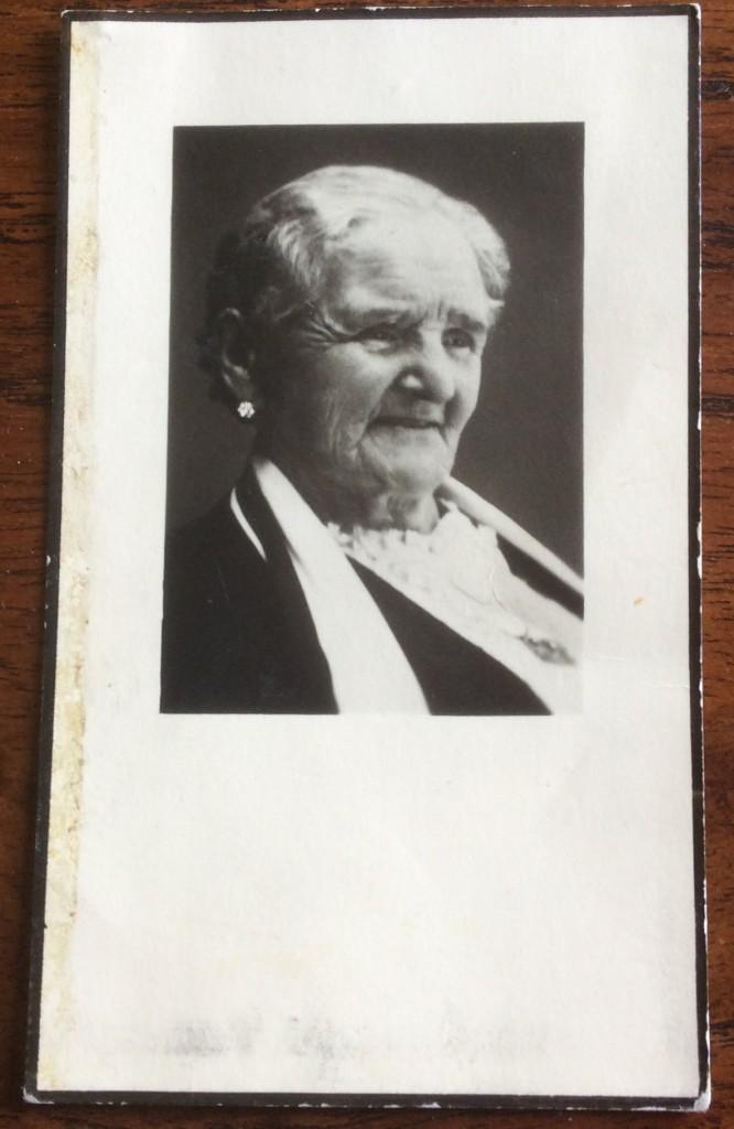 overlijden Lucia van Doormaal 7 dec 1958