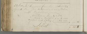 Overlijden Cornelus Nouwens- zoon van Nouwens-Verheulen - 22-09-1798