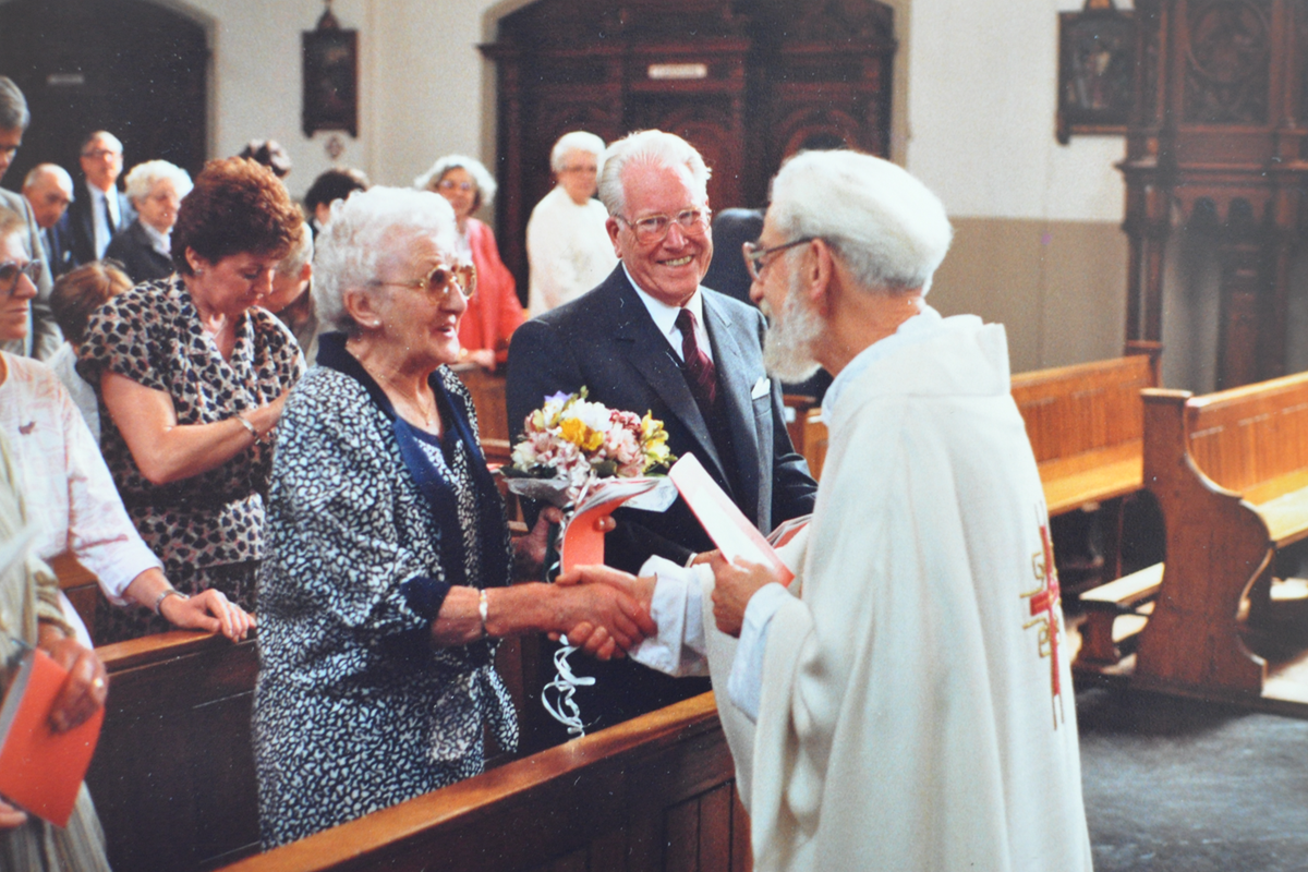 Corvers-Wellens 50 jarige bruilof 1987