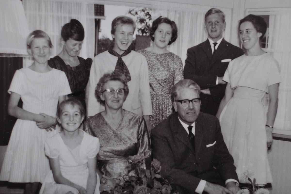 Gezin Corvers - Wellens 1962