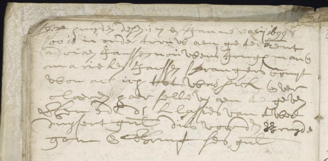 ondertrouw Adriaen Jan Nouwens en Maria Sprangers - Waspik 1699